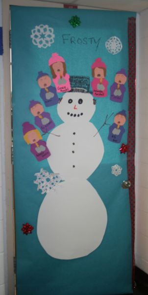 Decatur Community Schools Rudolph Wins Door Decorating